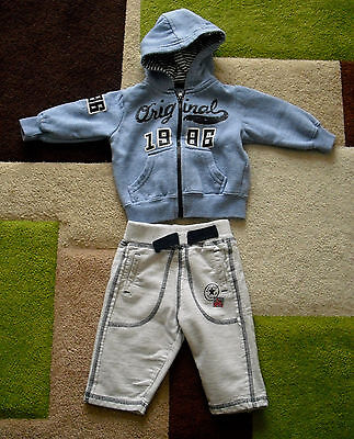 boys outfit hoodie trousers 0-3 months
