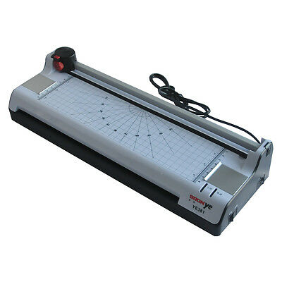 A3 Multi-functional 2 in 1 Photo Thermal& Cold Pouch Laminator + Paper Trimmer
