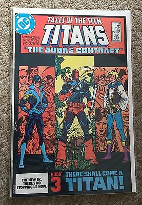 Tales Of The Teen Titans 44 NM First Nightwing
