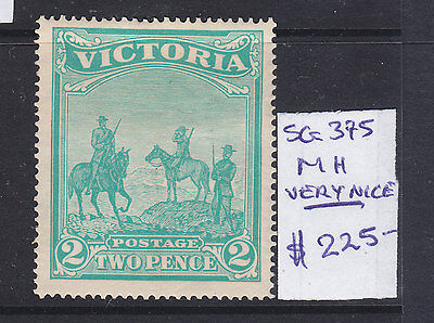 VICTORIA  2d (2/) EMERALD GREEN AUSTRALIAN TROOPS IN SOUTH AFRICA. MH