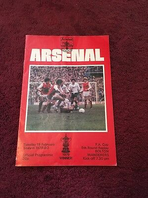 ARSENAL v BOLTON WANDERERS.First Division.1979/80