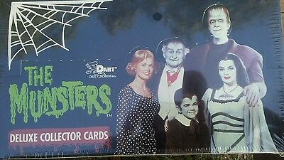 The munsters series 1 and 2 collector card boxes sealed