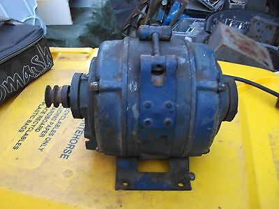 electric motor 1/4Hp 1440 RPM 240V foot mounted suit Hercus lathe working order