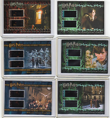 Harry Potter Film Cell Cards