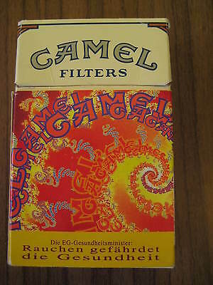 Camel   Zigaretten Old Camel DESIGN Pack / Cover from Germany 1989 .LEER / empty
