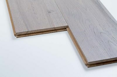 Trade Choice Solid Grey 18mm x 150mm Brushed and Oiled Wood Flooring