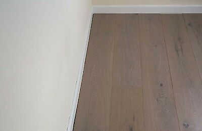 Trade Choice Easy Click Loc Engineered Grey 14/3mm x 190mm brushed and oiled Woo