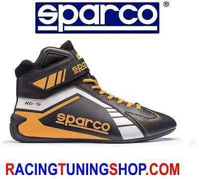 Scarpe Kart Sparco Scorpion Black/yellow Eu 43 Karting Boots Shoes - Schuhe Kart