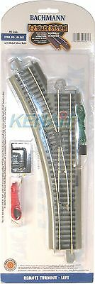 Bachmann HO Scale E-Z Track Remote Turnout Left Hand 44561