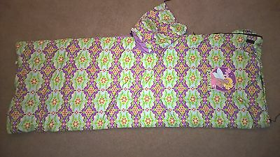Girls 'Flowies' sleeping bag by Outwell excellent condition