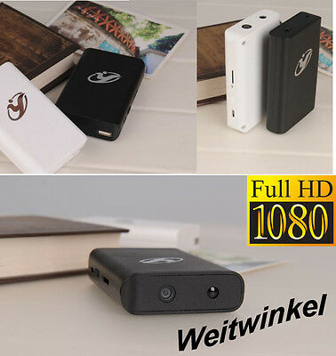 FULL HD PowerBank VERSTECKTE KAMERA MINI WIFI SPYCAM TON VIDEO weit winkel 140