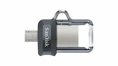 SanDisk Ultra Dual Drive m3.0 Series Flash Micro USB OTG-Enabled for Android MP