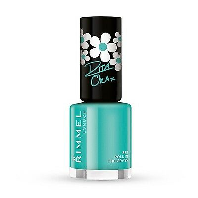Rimmel 60 Seconds Super Shine Nail Polish - Shade: 878 Roll In The Grass