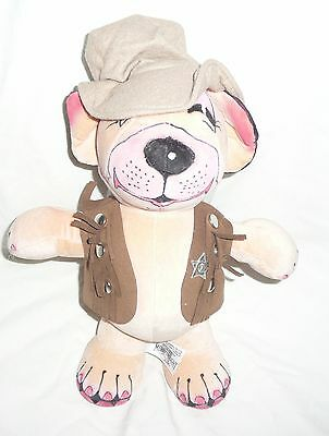 Merrythought George Studdy Bonzo Goes To Texas Dog - L/e 53/500 - New With Tags