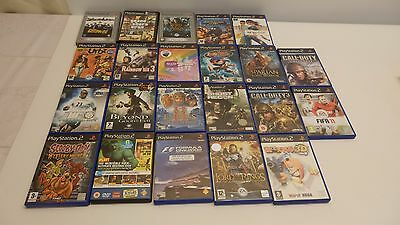 PS2 Games Joblot of 22 Disk Over all Good Condition See Discription