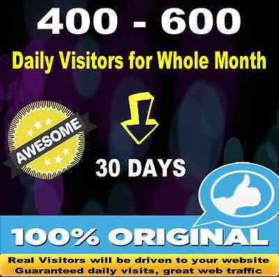 Advertising Your Website For 30 Days