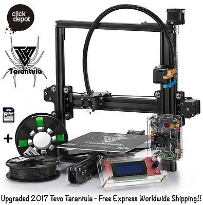 Tevo Tarantula-Prusa 3D Printer Diy Kit (Standard Bed+Auto Level+Flex Extruder)
