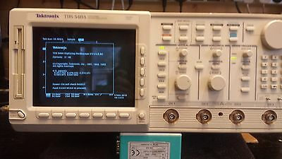Tektronix TDS540A 500 MHz 4-Channel 1 GS/s Sample Rate Digitizing Oscilloscope