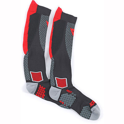 Motorcycle Dainese D-Core High Socks Red M UK Seller