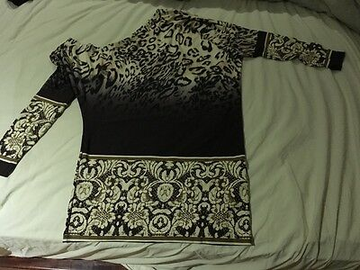 Women's T shirt, one shoulder, size M, long sleeves