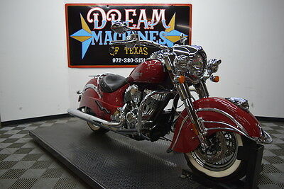 Indian Chief Classic  2014 Indian Motorcycle Chief Classic *Extras/ Low Miles* $15,245 Book Value*