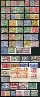 St Kitts Nevis QV - GVI 1862 - 1951 inc Nevis, St Christopher Total Cat app £280
