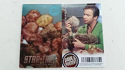 Star Trek Dave and Busters Thribbles Coin Pusher Limited Edition Card Foil Holo