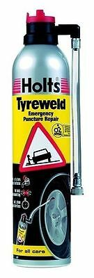 Holts Tyreweld 400ML Punctured Tyre Inflator CAR Repair Road Safety Maintenance