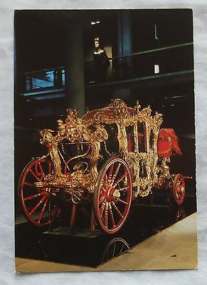 1987 Museum of London POSTCARD - THE LORD MAYOR'S STATE COACH 1757