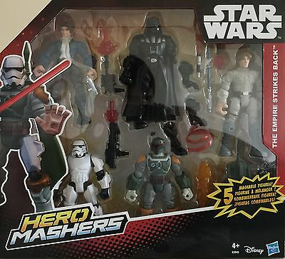 Hasbro STAR WARS Super Hero Mashers 5 Pack - 54 Pieces - The Empire Strikes Back
