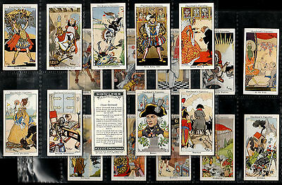 """Churchman 1937 Intriguing ( Comical ) Complete 40 Card Set """"""""  Howlers  """""""""""