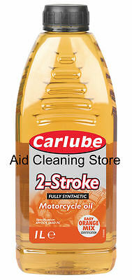 Carlube 2-Stroke Fully Synthetic Mineral Motorcycle Oil Engines Motorcycles