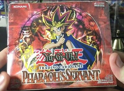 YU-GI-OH box PHARAOH'S SERVANTottimo new nuovo 36 pack booster box