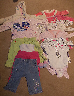 Bundle of Girls clothes size 3-6 months