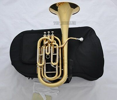 Professional Gold JINBAO Compensating Baritone horn Cupronickel tuning pipe New