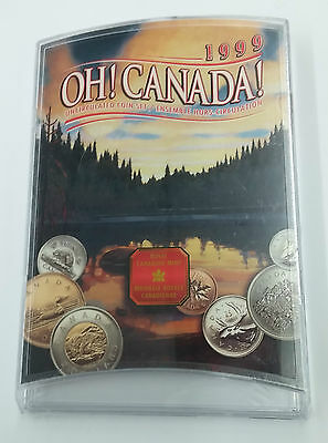 """1999 """"Oh Canada!"""" Uncirculated Coin Set"""