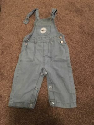Baby Boys Dungarees 9-12 Months (summer Clothing)