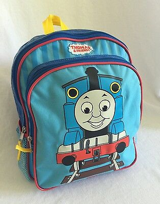 """Thomas The Train & Friends Toddler/Preschool  Backpack 12"""" tall Nice Quality"""
