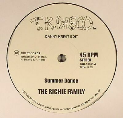 "RICHIE FAMILY, The/WILD HONEY - Summer Dance (Danny Krivit edits) - Vinyl (12"")"