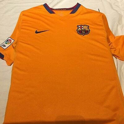 Nike FC Barcelona Away Football Shirt 2006/2007.