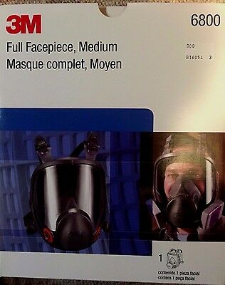 3M full face respirator size medium brand new AWESOME!