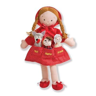 North American Bear Co. Dolly Pockets Little Red Riding Hood Doll 6588 Toy Gift