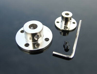 Rigid Metal flange coupling Shaft shaft support Fixed seat3/4/5/6/7/8/10/11/12mm