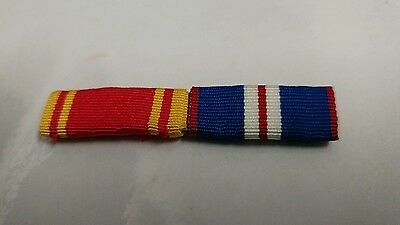 Fire Service Long Service And Golden Jubilee Sew On Medal Ribbons