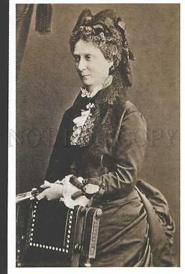 113239 RUSSIA Empress MARIA ALEXANDROVNA in bustle day dress