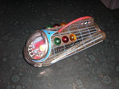 Tin Toy Gemini x 5  Working, made in about 1965