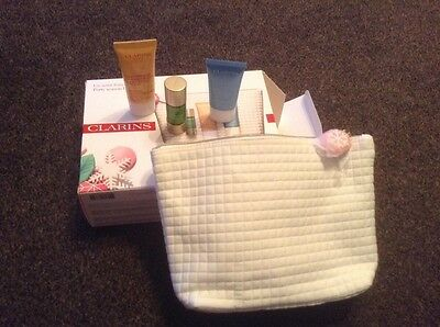 Clarins skin products gift set