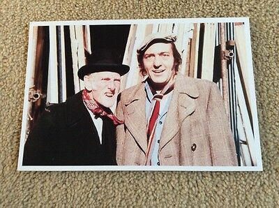 Cast Of Steptoe And Son Photo Card