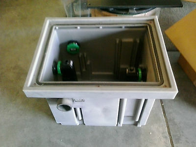 Schier 25gpm Grease Interceptor Grease Trap