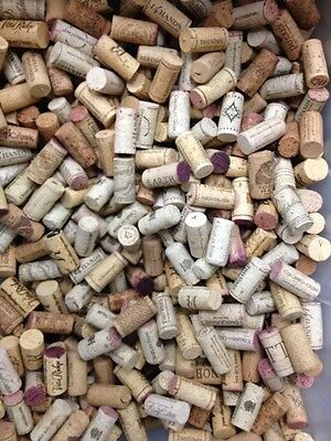 500+ Lot of Wine Corks, NO Synthetic, all in great shape, with a nice variety!!